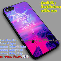 The Right Path is Not The Easiest One Pocahontas Quote iPhone 6s 6 6s+ 6plus Cases Samsung Galaxy s5 s6 Edge+ NOTE 5 4 3 #cartoon #animated #disney #Pocahontas dl3