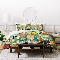 Belle13 Wonderful World Patchwork Duvet Cover