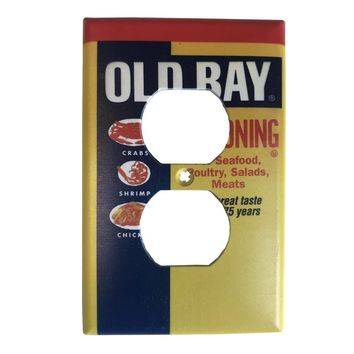Old Bay Can / Outlet Cover
