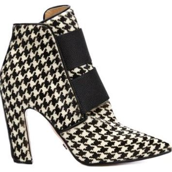 Viktor & Rolf Houndstooth Booties - Laboratoria - Farfetch.com