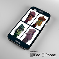 Gorillaz Character A1540 iPhone 4S 5S 5C 6 6Plus, iPod 4 5, LG G2 G3, Sony Z2 Case