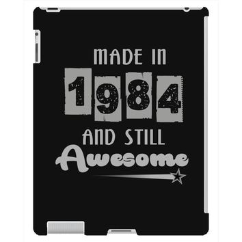 made in 1984 and still awesome iPad 3 and 4 Case