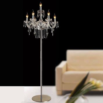 Latest Luxury Crystal Floor Lamp