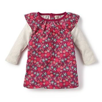 Infant Girl's Tea Collection 'Lucia' Double Decker Dress,