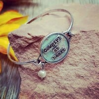 Floral Cowgirl At Heart Bracelet