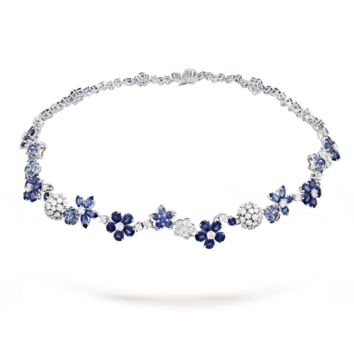 Folie des Prés necklace - VCARP05D00- Van Cleef & Arpels