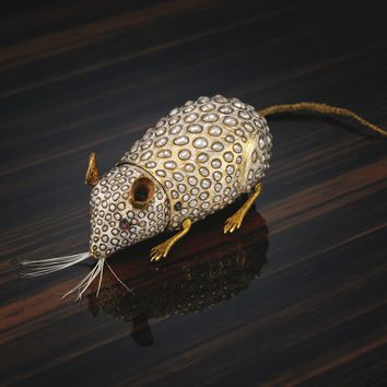 The Siberian Mouse. A pearl, gold and enamel automaton mouse, attributed to Henri Maillardet, circa 1805 | lot | Sotheby's