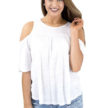 Women's BBDakota Oliana Cold Shoulder Top