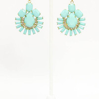 MACA Clothe · Oh my Gosh Earring in Mint
