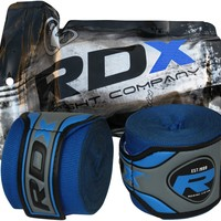 Authentic RDX Blue Hand Wraps Bandages