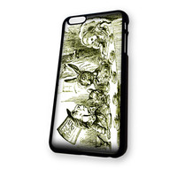 Alice in Wonderland Tea Party iPhone 6 Plus case