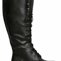 Trenton Tall Lace Up Boot - New Arrivals