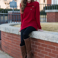 Meant To Be Tunic, Red