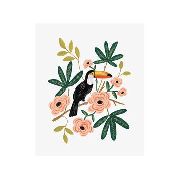 Toucan Art Print by RIFLE PAPER Co. | Made in USA