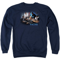 NCIS/ORIGINAL CAST - ADULT CREWNECK SWEATSHIRT - NAVY -