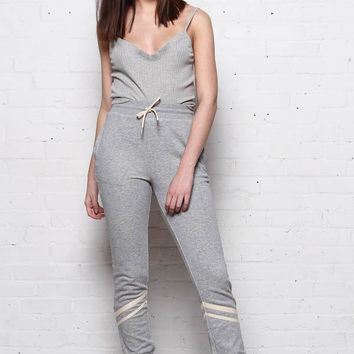 Margo Skinny Joggers - Athletic Gray
