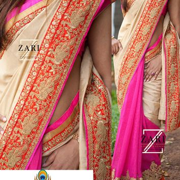 Designer inspired Saree