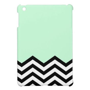 Mint Chevron Piece Case For The iPad Mini from Zazzle.com