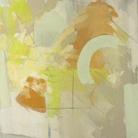 "Nick Brock Antiques - Current Inventory: ""Resonance"" abstract painting by Paul Ashby 2012"