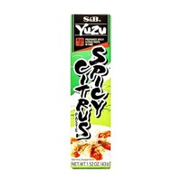S&B Yuzu Kosho Paste in Tube, 1.52 oz (43 g)