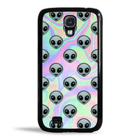 Tie Dye Alien Emoji Case for Samsung Galaxy S4