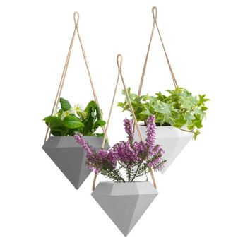 Chloris Diamond Hanging Planter