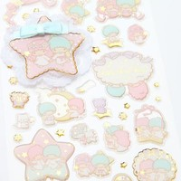 Little Twin Stars Stickers: Lace
