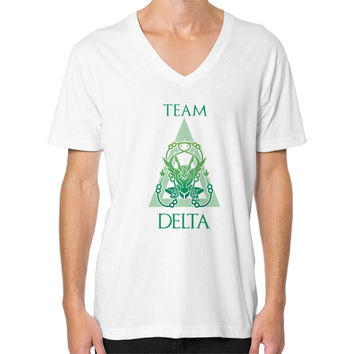 Team Delta V-Neck (on man)
