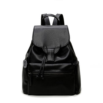 On Sale Stylish Back To School Comfort College Hot Deal Summer Korean Vintage Casual Travel Backpack [4915454980]