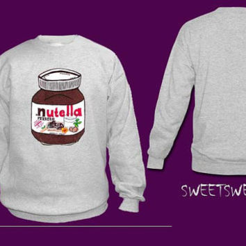 Nutella sweater sweatshirt Unisex Women and Men