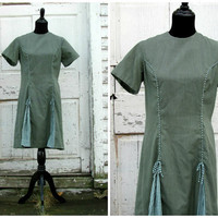 A Perfect Christmas Gift/ Girl Scouts Cute Vintage 50s 60s Mad Men Wiggle Bombshell Day Work Office Dress