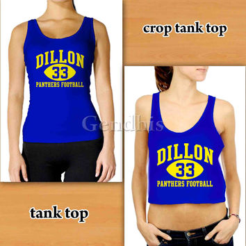 Dillon Panthers 34624 Custom Woman Crop Tank , Woman Tank Top , Man Tank Top