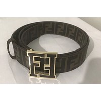 Men's Brown Fendi Belt