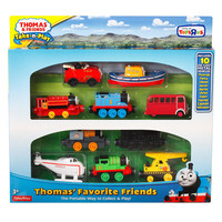 Fisher-Price Thomas & Friends Take-n-Play Thomas' Favorite Friends Engines