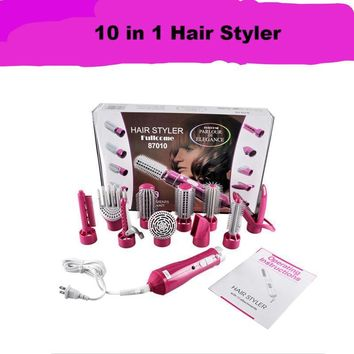 10 in 1 Professional Electric Blow Hair Dryer