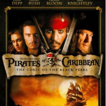 Pirates of the Caribbean: The Curse of the Black Pearl (DVD) (3 Disc) 2003