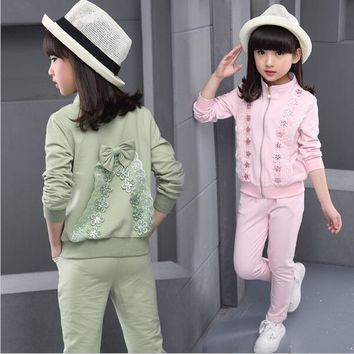 Kid Sports Wear Girl's Tracksuits