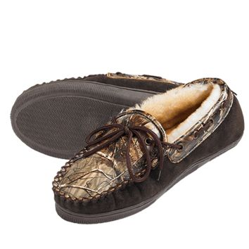 CAMO LEATHER Slippers for Adults