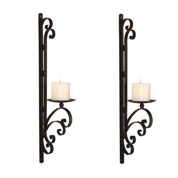 Candle Wall Sconces For Fireplace : Best Wall Sconce Candle Holder Products on Wanelo