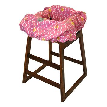 Little Luxe Link Shopping Cart & High Chair Cover (Pink)