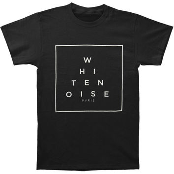 Pvris Men's  White Noise T-shirt Black Rockabilia