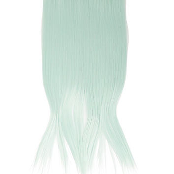 Mint Clip-In Hair Extension
