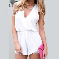 Demure Musing Playsuit