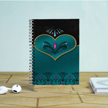 Coronation Elsa Cover Photo Notebook Auroid