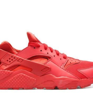 spbest Nike Air Huarache Triple Red Mens