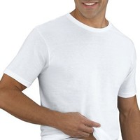 Jockey Men's T-Shirts Big Man Classic Tag-Free Crew Neck T-Shirt- 2 Pack