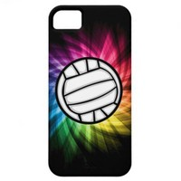 Volleyball; Spectrum iPhone 5 Cover from Zazzle.com