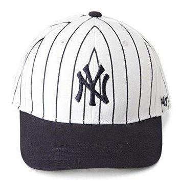 47 Brand New York Yankees MLB Infant Basic MVP Cap - Navy Blue