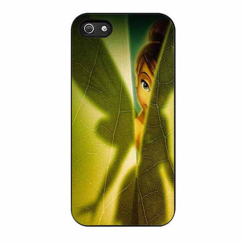 tinkerbell green leave cases for iphone se 5 5s 5c 4 4s 6 6s plus