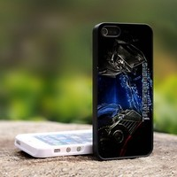 The Transformers Optimus Prime - For iPhone 5 Black Case Cover
